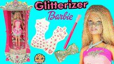 Glitterizer Machine Playset , Barbie Glitter Fashion Style Makeover - Co...
