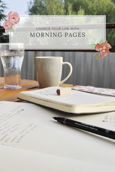 The title of the post may sound a bit extreme, but it's not. My adaptation of morning pages has really changed my life. And they can change your life too.