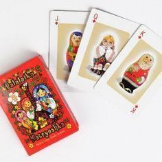 Nesting Dolls Playing Cards