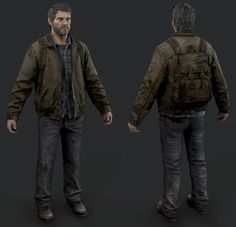 The Last of Us - Joel Winter Outfit by luxox18