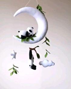 Handmade baby nursery decor items by WildNestCreations