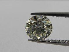 Catawiki Online-Auktionshaus: Hellgelber Einzeldiamant