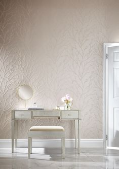 Graham & Brown offers a wide selection of luxury wallpaper featuring high-quality textures and styles. Decorate your home with our elegant wallpaper collection. Coastal Wallpaper, Spring Wallpaper, Luxury Wallpaper, Designer Wallpaper, Wallpaper Designs, Inviting Home, Graham Brown, Metallic Paper, Light Spring