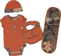 OFFICIALLY LICENSED BROWNING BABY TEXAS ORANGE 4 PIECE CAMO SET, http://www.amazon.com/dp/B00BHMC4CM/ref=cm_sw_r_pi_awd_SSDisb1BY8PP8