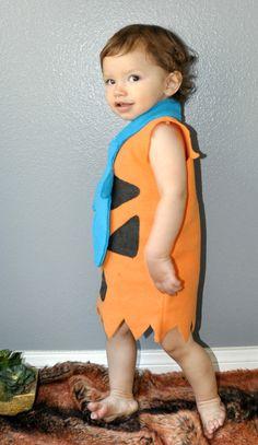 Fred Flinstone inspired costume kid toddler boy by zorraindina, $69.00