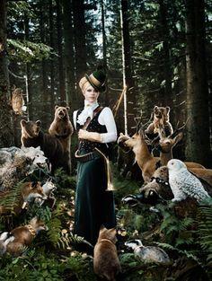 Ogilvy Dirndl Fashion - In the Forrest  Bisovsy Magical Clothing