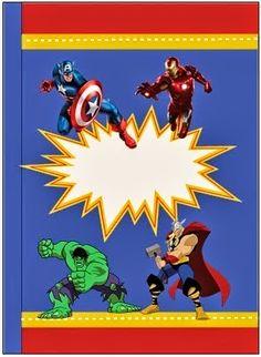 Kit Gratis de los Vengadores.                              …
