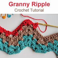 Crochet For Children: Granny Ripple (Crochet Tutorial)