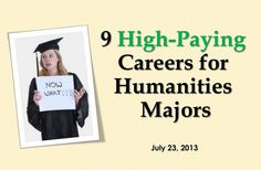9 High Paying Careers for Humanities Majors