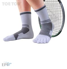 They are probably the most comfortable socks you have ever worn. Tennis Whites, Toe Socks, Grey, Sports, Fashion, Gray, Hs Sports, Moda, Fashion Styles