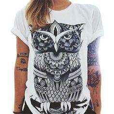 Chaleco sin mangas Pluma Impreso Blusa Camiseta de Casual  b18654489f1d2