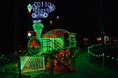 garvan gardens puts on an amazing light show every year you wont want to miss - Garvan Gardens Christmas Lights