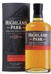 Highland Park Scotch 18 Year