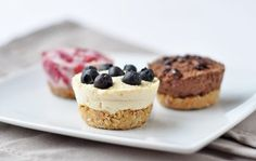 "Baked ""Coconut Cream"" Cheesecakes are easily customized and delightfully mini."