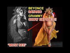 BEYONCE'S 59TH GRAMMY SATANIC ILLUMINATI PERFORMANCE EXPOSED *MUST SEE* - YouTube