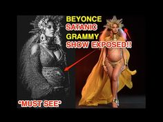 BEYONCE'S 59TH GRAMMY SATANIC ILLUMINATI PERFORMANCE EXPOSED *MUST SEE* - YouTube