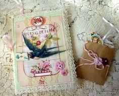 Medium Altered Journal With Extra Ephemera by susiea on Etsy, $16.95