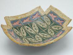 hand built ceramic pottery dish by VickieDumas on Etsy, $34.00