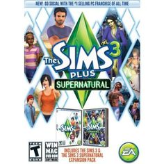 Sims 3 Plus Supernatural Expansion Pack - Windows WINDOWS $49.99 Amazing Discounts Your #1 Source for Video Games, Consoles & Accessories! Multicitygames.com Click On Pins For More Info