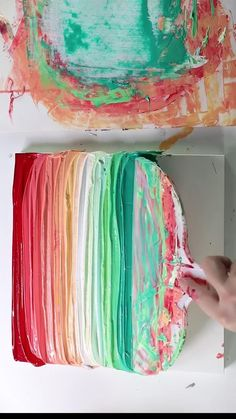 Canvas Painting Tutorials, Diy Canvas Art, Diy Painting, Art Therapy Projects, Art Projects, Pintura Graffiti, Texture Art, Acrylic Art, Art Tutorials