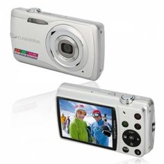 Zoom Digital  Camera Silver  Do you want a high-quality digital camera to keep wonderful moments of your life? Here we are pleased to recommend you this Digital Camera. It will be your good helper for daily shooting. With latest technology, the device can capture vibrant and vivid image.