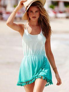 33 Summer Women's Clothing with Beach Hat Suits Swimwear Fashion, Bikini Swimwear, Swimsuits, Cute Summer Outfits, Summer Dresses, Beach Outfits, Victoria Secret Swimwear, Victoria Dress, Lounge Wear