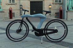 自転車先進国デンマークのデザイナーによる電動アシスト自転車 - えん乗り