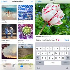 Do you want to share your iPhone photos with family and friends? This guide tells you everything you need to know about iCloud Photo Sharing! School Photography, Photography Ideas, Iphone Camera, Photo A Day, Photo Online, Iphone Photography, Holiday Photos, Image Sharing, Family Photos