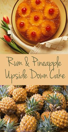 Rum & Pineapple Upside Down Cake