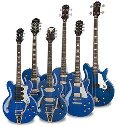 Chicago Blue is one of our favorite colors... Check out the Blue Royale Collection at: http://www.epiphone.com/News/Features/2016/Ltd-Ed-Blue-Royale-Collection.aspx
