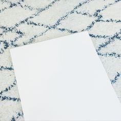 Schrijfblok blank - Dik papier met structuurtje