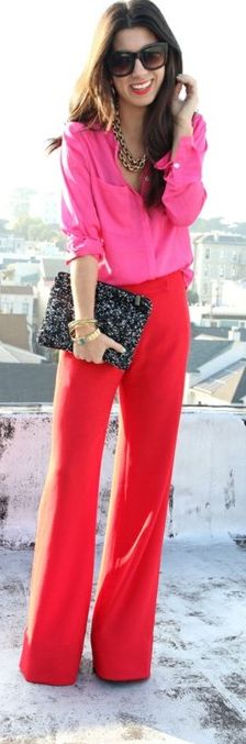Pink and red and sparkles all over!