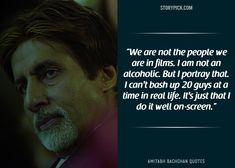 15 Quotes By Amitabh Bachchan That Prove He Is The 'Shahenshah' Of Bollywood Broken People, Real People, We The People, Man Images, Life Images, Amitabh Bachchan Quotes, Challenge Images, Everybody Else, Real Quotes