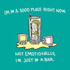 Happy hour = happy place.