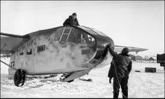 A Gotha Go 242 glider preparing for towing - Russia January 1942.