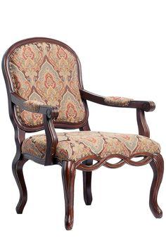 Harvard Carved Arm Chair