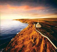 Cape Spear in Newfoundland, the easternmost point of North America. Newfoundland and Labrador Tourism