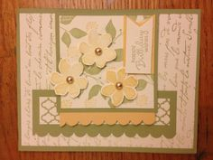 Stampin Up card from Patti Rod