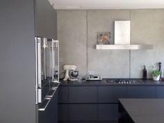 Holz meet Beton - Küchen - Referenzen - La Cucina é Casa | küche | wohnen | innenarchitektur |Schweinfurt