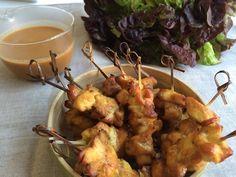 Receta de pollo satay - Como lo que quiero