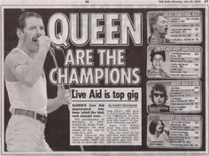 Queen, Live Aid