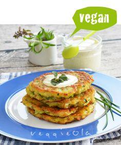 veggieola: Pyszne i szybkie placki z cukinii i ryżu