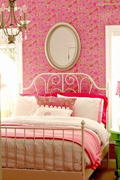 Little Girls 'Pink' Bedroom Reveal