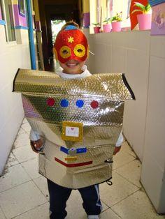 Disfraz robot