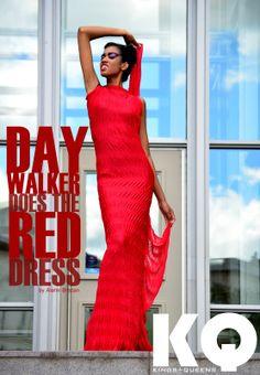 DAY WALKER DOES THE RED DRESS...  ALAHN BREZAN  STEEL SHARPEN STEEL