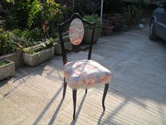 restauro sedia completato
