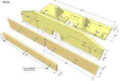Router table + adjustable fence plans