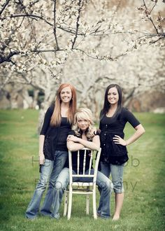 friends shoot. Orchard shots always look great when there are blooms.
