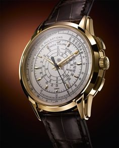 Patek Philippe Multi Scale Chronograph oro amarillo Recommended by RAFO and Art & Luxury