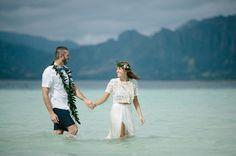 Katie + Joe Intimate Sandbar Wedding : Geoff Duncan
